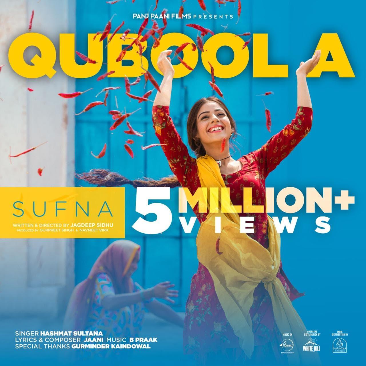 qubool a 5 million plus views