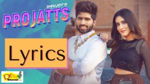 Pro Jatts : Shivjot Lyrics