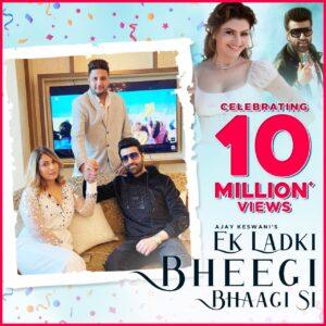 Ek Ladki Bheegi Bhaagi Si remake ft. Ajay Keswani & Urvashi Rautela Garners 10 million views