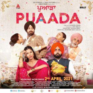 Ammy Virk &  Sonam Bajwa's much awaited film PUAADA Trailer is out now