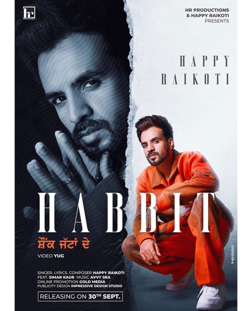 Happy Raikoti Song Habbit Shonk Jattan De