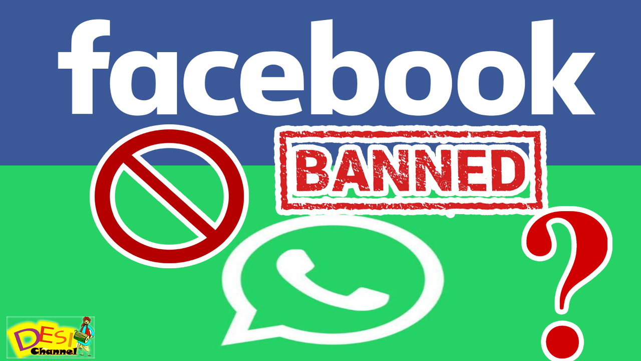 Facebook and Whatsapp Services down all over world