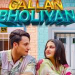 gallan bholiyan himanshi khurana asim riaz official poster