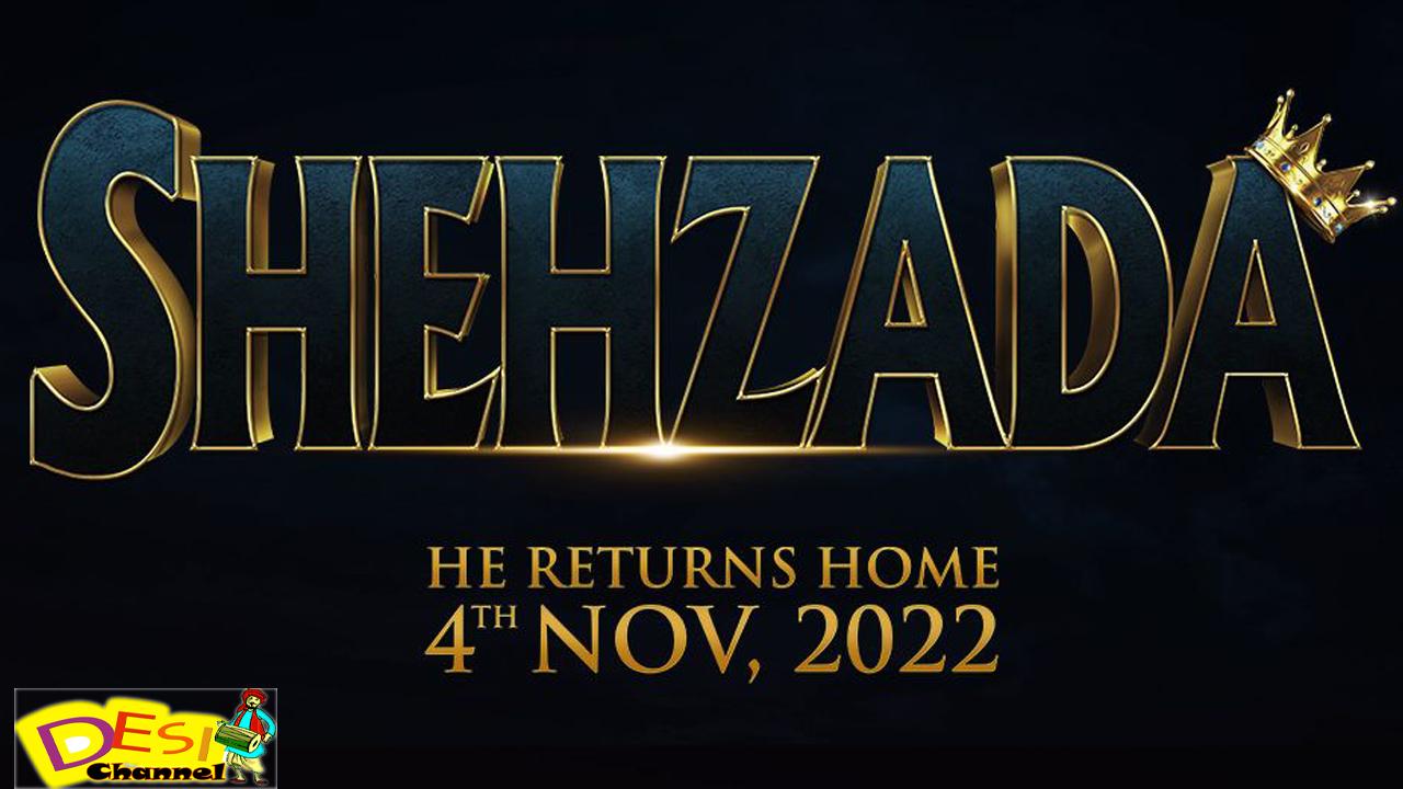 shehzada movie kartik aaryan official poster